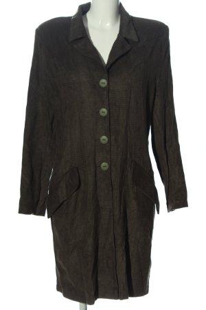 Depeche Floor-Lenght Coat khaki casual look