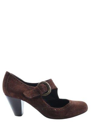 Depeche High Heels brown casual look