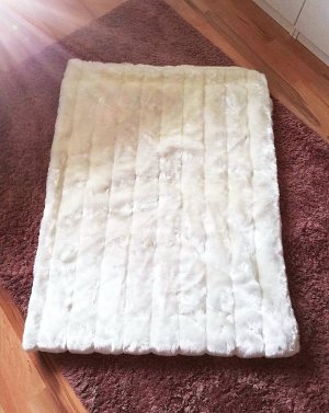 Depot Écharpe en tricot blanc cassé