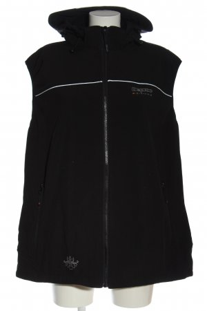deproc Chaleco con capucha negro look casual