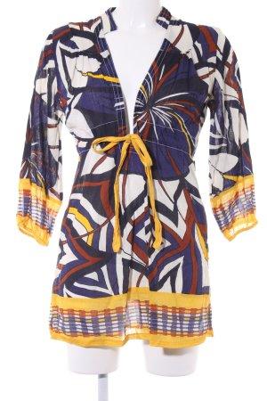 Dept A-Linien Kleid abstraktes Muster