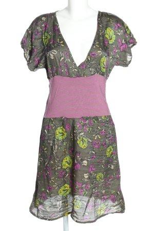 Dept Blusenkleid Blumenmuster Casual-Look