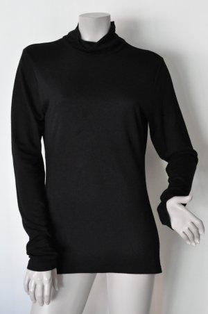 Dept Jersey Rollkragen Pulli Shirt Rolli schwarz Gr. XL | 42 Viskosemischung