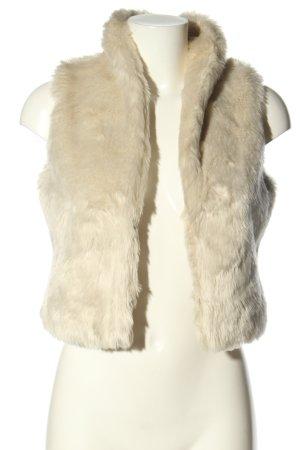 Dept Fake Fur Vest cream casual look