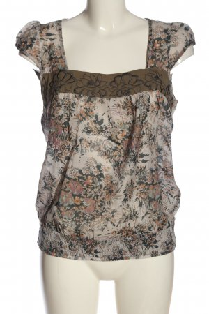 Dept Short Sleeved Blouse allover print casual look