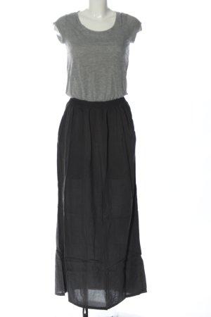 Dept Shortsleeve Dress black-light grey flecked casual look