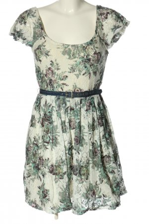 Dept Shortsleeve Dress flower pattern casual look