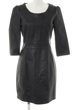 Dept Langarmkleid schwarz extravaganter Stil