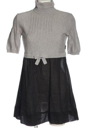 Dept Mini Dress light grey-black flecked casual look