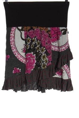 Dept Miniskirt flower pattern casual look