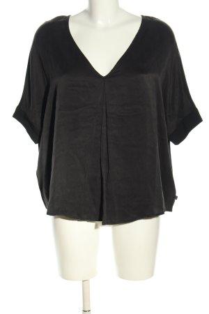 Dept Oversized Bluse schwarz Casual-Look
