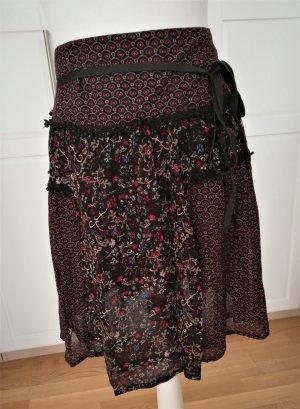 Dept Plaid Skirt multicolored