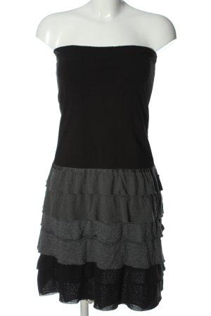 Dept Off-The-Shoulder Dress black-light grey flecked casual look