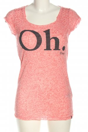 Dept T-Shirt pink flecked casual look