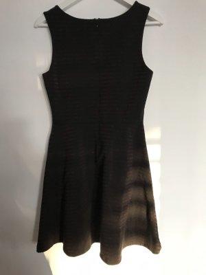 edc by Esprit Vestido de tela de jersey negro-color bronce Algodón