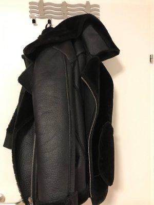 Orsay Abrigo ancho negro