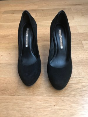 Buffalo London Platform Pumps black