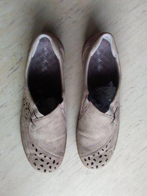 scarbella Pantofel jasnobeżowy