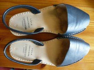 AVARCA MENORQUINA Comfort Sandals dark blue leather