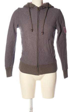 Der Wildschütz Hooded Sweatshirt light grey casual look