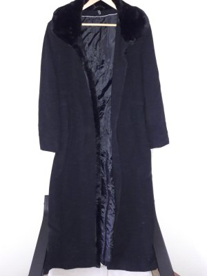 Adagio Floor-Lenght Coat black new wool