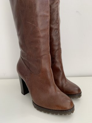 Unbekannte Marke Platform Boots brown