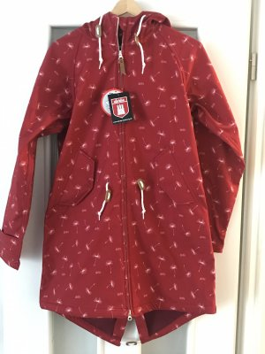 Derbe Heavy Raincoat red