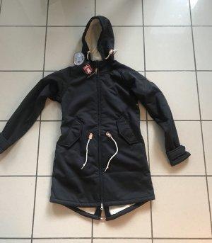 Derbe Softshell Jacket black-cream