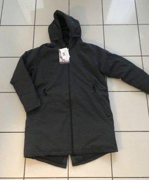 Derbe Płaszcz zimowy ciemnoszary-czarny