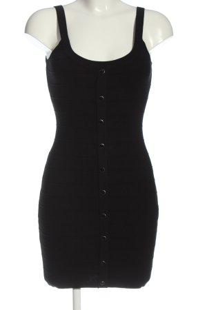 derek heart Knitted Dress black casual look