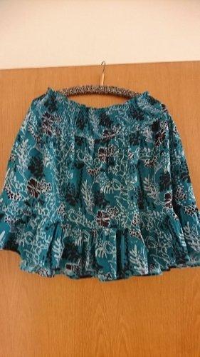 derek heart Broomstick Skirt multicolored cotton