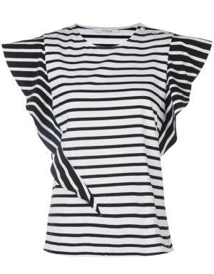 Derek Lam Stripe Shirt white-black striped pattern casual look
