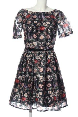 Derhy Shortsleeve Dress allover print elegant