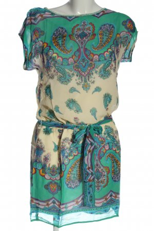 Derhy Mini Dress allover print elegant