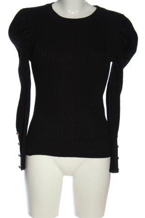 Derhy Crewneck Sweater black casual look