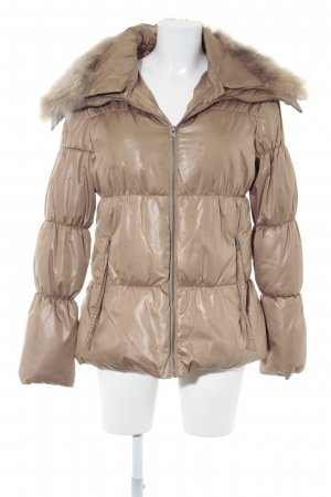 Derhy Winterjacke beige-sandbraun Casual-Look