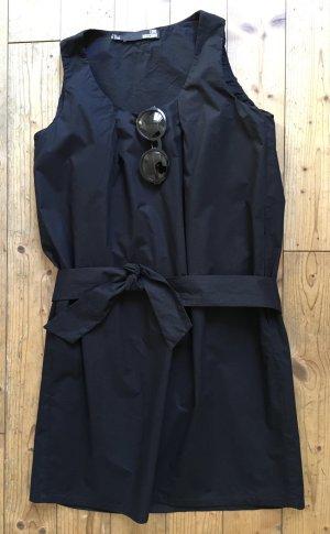 Boutique Moschino Sheath Dress dark blue cotton