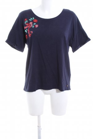 Des Petits Hauts T-Shirt blau Casual-Look