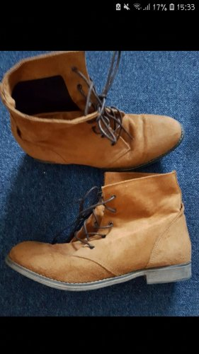 Deichmann Desert Boots brown-cognac-coloured