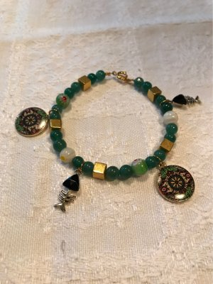 Handarbeit Bracelet en perles multicolore