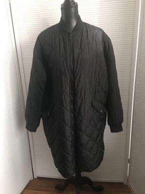 KappAhl Płaszcz oversize czarny