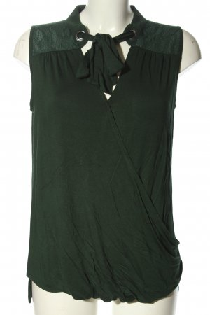 DESIGN History Lace Top green elegant