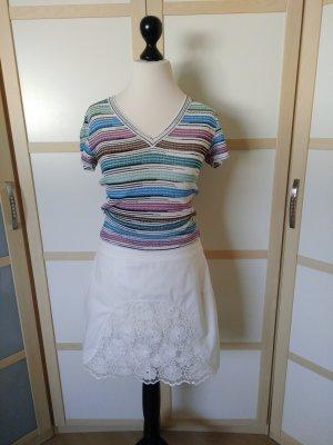 See by Chloé Mini-jupe blanc coton