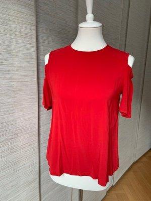 Marella Top cut-out rosso Viscosa