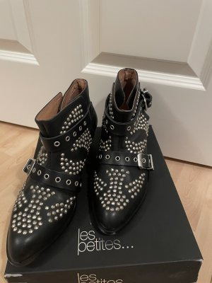 Designer ankle boots