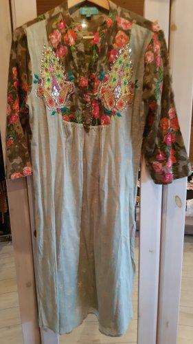 Designer Antica Sartoria Tunica Boho Kleid wie Neu