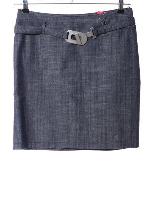 designer basics Minirock blau meliert Casual-Look