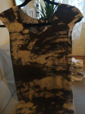 Designer batik Kleid, Seide