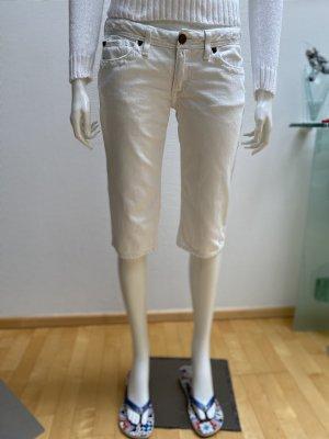 J & Company Pantalon capri blanc-blanc cassé
