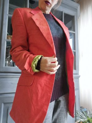 Boyfriend Blazer neon orange-salmon